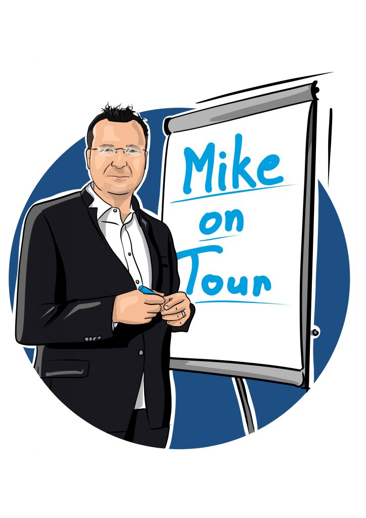 Mike on Tour